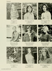 Page 50, 1976 Edition, Meredith College - Oak Leaves Yearbook (Raleigh, NC) online yearbook collection