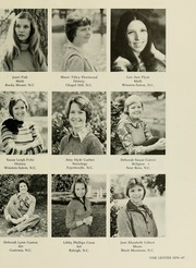 Page 51, 1976 Edition, Meredith College - Oak Leaves Yearbook (Raleigh, NC) online yearbook collection