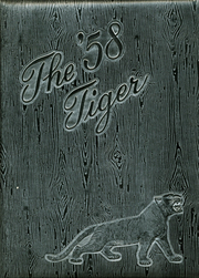 1958 Edition, Lamar High School - Tiger Yearbook (Lamar, MO)