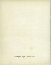 Page 4, 1959 Edition, Palmyra High School - Searchlight Yearbook (Palmyra, MO) online yearbook collection