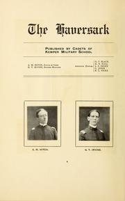 Page 10, 1906 Edition, Kemper Military School - Yearbook (Boonville, MO) online yearbook collection
