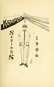 Page 17, 1906 Edition, Kemper Military School - Yearbook (Boonville, MO) online yearbook collection