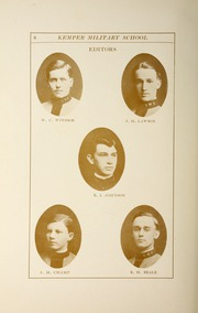 Page 14, 1910 Edition, Kemper Military School - Yearbook (Boonville, MO) online yearbook collection