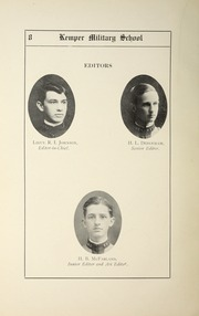 Page 12, 1911 Edition, Kemper Military School - Yearbook (Boonville, MO) online yearbook collection