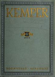Page 1, 1923 Edition, Kemper Military School - Yearbook (Boonville, MO) online yearbook collection