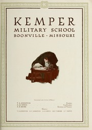 Page 7, 1923 Edition, Kemper Military School - Yearbook (Boonville, MO) online yearbook collection