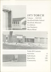 Page 5, 1975 Edition, Strafford High School - Torch Yearbook (Strafford, MO) online yearbook collection
