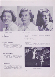 Nerinx Hall High School - Key Yearbook (Webster Groves, MO) online yearbook collection, 1949 Edition, Page 17