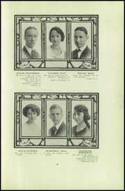 Page 15, 1921 Edition, Soldan High School - Scrip Yearbook (St Louis, MO) online yearbook collection