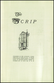 Page 3, 1921 Edition, Soldan High School - Scrip Yearbook (St Louis, MO) online yearbook collection