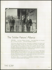 Page 10, 1945 Edition, Soldan High School - Scrip Yearbook (St Louis, MO) online yearbook collection