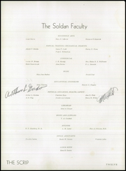 Page 16, 1945 Edition, Soldan High School - Scrip Yearbook (St Louis, MO) online yearbook collection