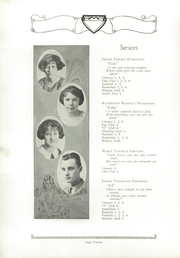 Page 16, 1924 Edition, Ferguson High School - Crest Yearbook (Ferguson, MO) online yearbook collection