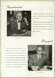 Page 10, 1954 Edition, Ferguson High School - Crest Yearbook (Ferguson, MO) online yearbook collection