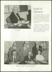 Page 12, 1958 Edition, Ferguson High School - Crest Yearbook (Ferguson, MO) online yearbook collection