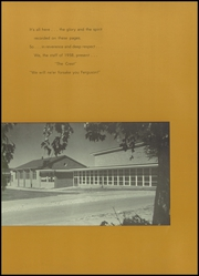 Page 9, 1958 Edition, Ferguson High School - Crest Yearbook (Ferguson, MO) online yearbook collection