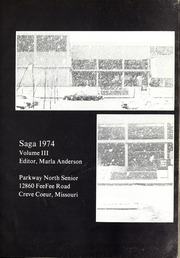 Page 5, 1974 Edition, Parkway North High School - Saga Yearbook (Creve Coeur, MO) online yearbook collection
