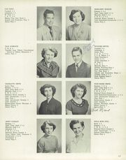 Page 17, 1953 Edition, Marceline High School - Marcello Yearbook (Marceline, MO) online yearbook collection
