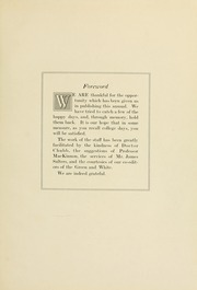 Page 11, 1921 Edition, Ohio University - Athena Yearbook (Athens, OH) online yearbook collection