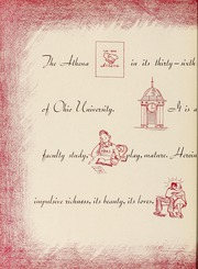 Page 8, 1940 Edition, Ohio University - Athena Yearbook (Athens, OH) online yearbook collection