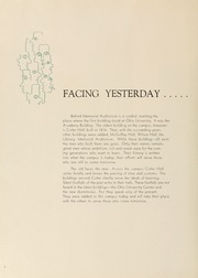Page 12, 1955 Edition, Ohio University - Athena Yearbook (Athens, OH) online yearbook collection