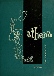 Ohio University - Athena Yearbook (Athens, OH) online yearbook collection, 1959 Edition, Page 1