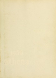 Page 3, 1959 Edition, Ohio University - Athena Yearbook (Athens, OH) online yearbook collection