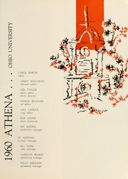 Page 13, 1960 Edition, Ohio University - Athena Yearbook (Athens, OH) online yearbook collection