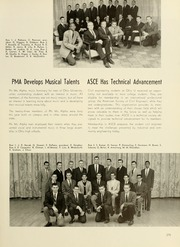 Page 279, 1961 Edition, Ohio University - Athena Yearbook (Athens, OH) online yearbook collection