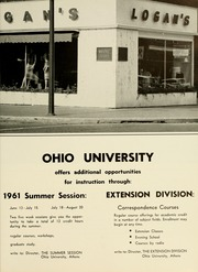 Page 329, 1961 Edition, Ohio University - Athena Yearbook (Athens, OH) online yearbook collection