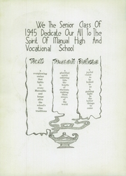 Page 10, 1945 Edition, Manual High School - Builder Yearbook (Kansas City, MO) online yearbook collection