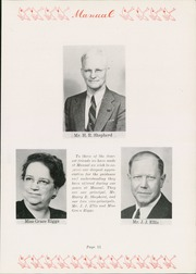Page 15, 1947 Edition, Manual High School - Builder Yearbook (Kansas City, MO) online yearbook collection