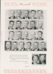 Page 17, 1947 Edition, Manual High School - Builder Yearbook (Kansas City, MO) online yearbook collection