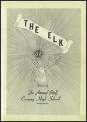 Page 7, 1952 Edition, Conway High School - Elk Yearbook (Conway, MO) online yearbook collection