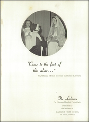Page 5, 1948 Edition, Laboure High School - Laboure Yearbook (St Louis, MO) online yearbook collection