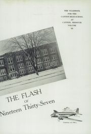 Page 7, 1937 Edition, Canton High School - Flash Yearbook (Canton, MO) online yearbook collection