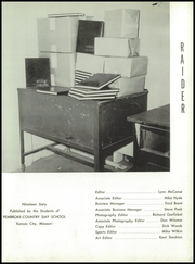 Page 7, 1960 Edition, Pembroke Hill High School - Raider Yearbook (Kansas City, MO) online yearbook collection