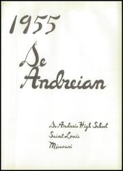 Page 5, 1955 Edition, DeAndreis High School - De Andreian Yearbook (St Louis, MO) online yearbook collection
