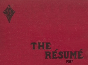 Page 1, 1907 Edition, Springfield High School - Resume Yearbook (Springfield, MO) online yearbook collection