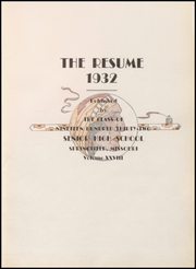 Page 7, 1932 Edition, Springfield High School - Resume Yearbook (Springfield, MO) online yearbook collection