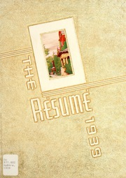 1939 Edition, Springfield High School - Resume Yearbook (Springfield, MO)