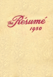 1950 Edition, Springfield High School - Resume Yearbook (Springfield, MO)