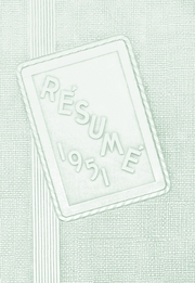 1951 Edition, Springfield High School - Resume Yearbook (Springfield, MO)