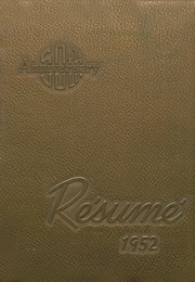 1952 Edition, Springfield High School - Resume Yearbook (Springfield, MO)