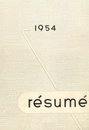1954 Edition, Springfield High School - Resume Yearbook (Springfield, MO)
