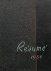 1956 Edition, Springfield High School - Resume Yearbook (Springfield, MO)