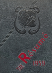 1959 Edition, Springfield High School - Resume Yearbook (Springfield, MO)