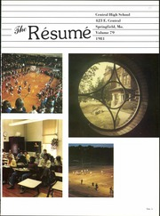 Page 5, 1981 Edition, Springfield High School - Resume Yearbook (Springfield, MO) online yearbook collection