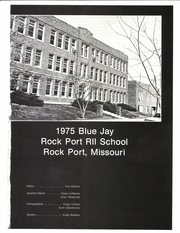 Page 5, 1975 Edition, Rock Port High School - Bluejay Yearbook (Rock Port, MO) online yearbook collection