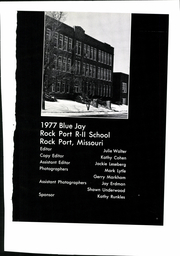 Page 5, 1977 Edition, Rock Port High School - Bluejay Yearbook (Rock Port, MO) online yearbook collection